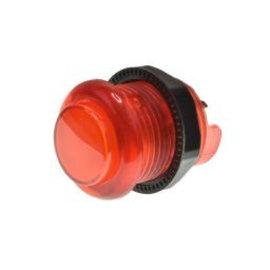 Lichtgevende arcade drukknop  rood