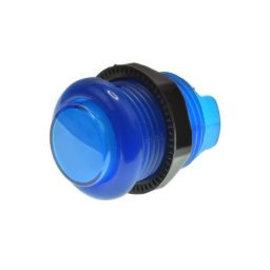 Lichtgevende arcade drukknop  blauw