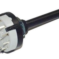 lorlin draaischakelaar 3x4 contacten 0,15A - 250V PCB uitvoering