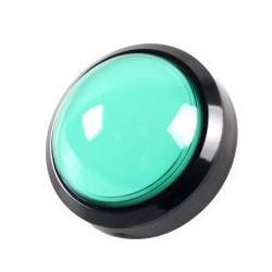 Grote Arcade led dome drukknop groen D: 100mm y