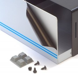 Aluminium behuizing - 68 x 163x 189mm