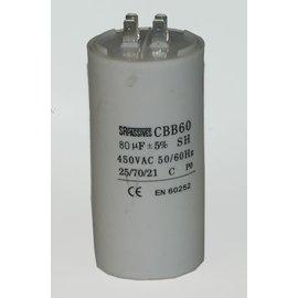 Aanloop condensator 80uF-450VAC