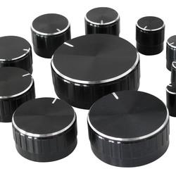 Sintron Connect 11-delige draaiknoppen set zwart