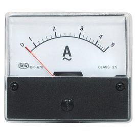 Blanko Paneelmeter 0-5A AC