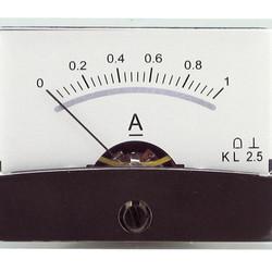 Blanko spiegelschaal paneelmeter 0-1A DC