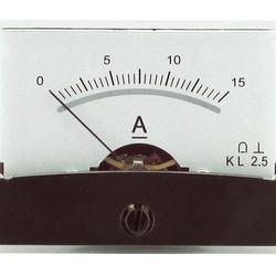 Blanko spiegelschaal paneelmeter 0-15A DC