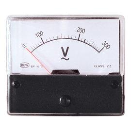 Blanko Paneelmeter 0-300V AC