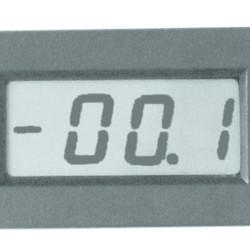 Blanko LCD paneelmeter