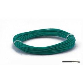Ohmeron Stugge montagedraad 0,2mm² 10m groen