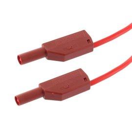 Veiligheidssnoer rood 0,5 mtr
