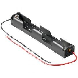Batterijhouder voor 2xAA