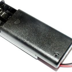 Batterijhouder voor 2AA cel