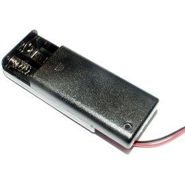 Batterijhouder voor 2AA