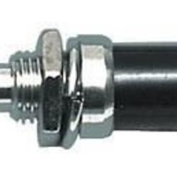 Drukknop Normaal Gesloten ON-(OFF) 1A/125VAC zwart