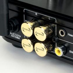 Audio Dynavox cinch beschermers 4 delig verguld