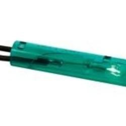 Ronde 7mm signaallamp 230V groen