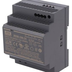Meanwell Industriële voeding voor DIN RAIL - Meanwell / 24V 100W 3,83A