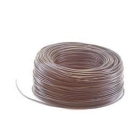 Ohmeron Soepel Montagedraad 0.5mm² 100m zwart