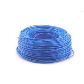 Ohmeron Soepele Montagedraad 0.5mm² 100m blauw
