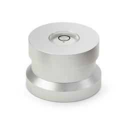 Audio Dynavox Dynavox aluminium puck ASP3 met waterpas - zilver