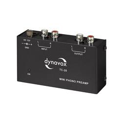 Audio Dynavox Dynavox phono voorversterker TC20 zwart