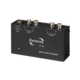 Audio Dynavox Phono voorversterker TC20