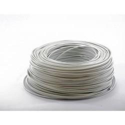 Ohmeron Soepele Montagedraad 1.5mm² - 100 meter wit