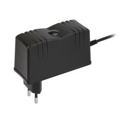 12 Volt adapter 2.5 Amp.