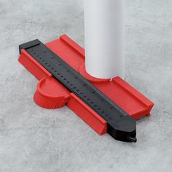Blanko contourmeter 25cm Blanko  met vergrendeling rood