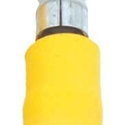 Ohmeron Doorverbinder mannelijk geel - 100 stuks