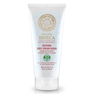 Natura Siberica Reviving Body Cream Scrub 200 ml