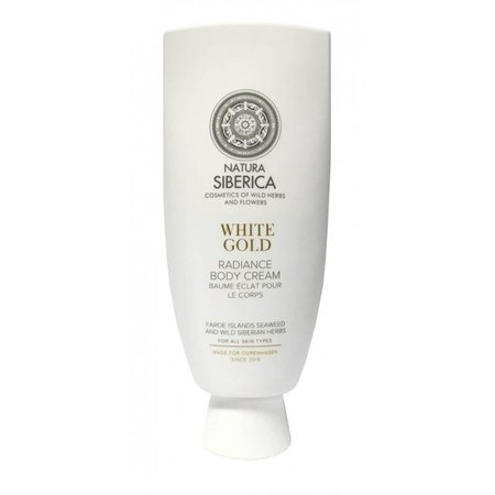 Natura Siberica Radiance body cream, White gold, 200ml