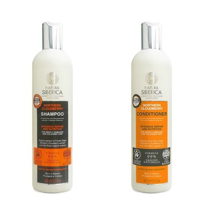 Natura Siberica Cloudberry Shampoo & Conditioner Set