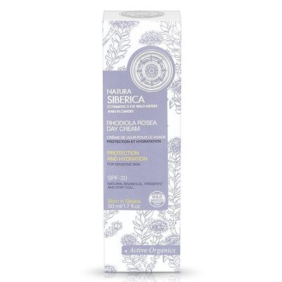 Natura Siberica Rhodiola Rosea Day Cream 50 ml