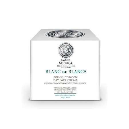 Natura Siberica Intense hydration day face cream, Blanc de blancs, 50ml