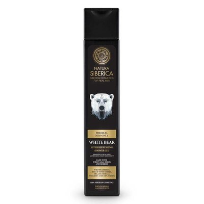 Natura Siberica White Bear Super Refreshing Shower Gel 250 ml