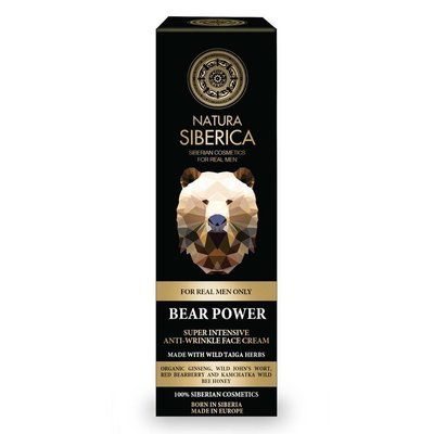 Natura Siberica Bear Power Anti-Wrinkle Face Cream 50 ml