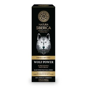 Natura Siberica Wolf Power Super Toning Face Cream 50 ml