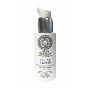 Natura Siberica Age-Delay Eye serum, Caviar de Russie, 30ml