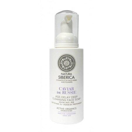 Natura Siberica Age-Delay Deep Cleansing Face soap, Caviar de Russie, 175ml