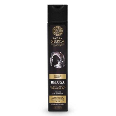 Natura Siberica Beluga Hair Shampoo-Activator against Hair Loss 250 ml