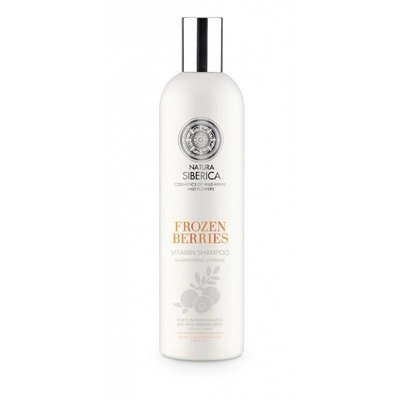 Natura Siberica Frozen Berries vitamin shampoo, 400ml