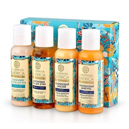 Natura Siberica Travel Set Oblepikha, 4x50 ml