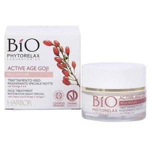 Phytorelax Bio Active Age Goji Restorative Night Face Treatment