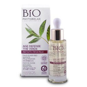 Phytorelax Bio Green Tea Age Defense Face Elixir Oil