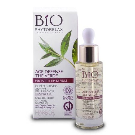Phytorelax Bio Green Tea Age Defense Face Elixir Oil