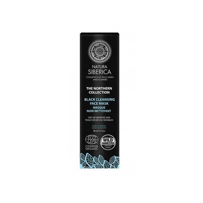 Natura Siberica Northern Black Cleansing Face Mask 80ml