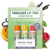 Human + Kind  Natuurlijke Lip Balm Trio Vegan
