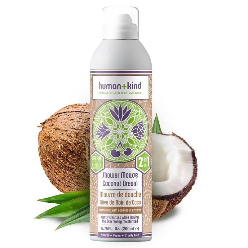 Human Kind Shower Mousse Coconut Dream Vegan - Organic-Shop