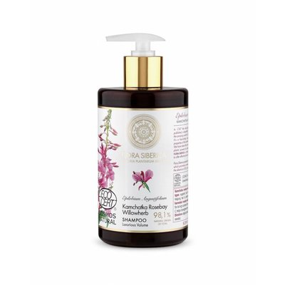 Flora Siberica  Kamchatka Rosebay Willowherb Shampoo. Luxurious Volume, 480 ml